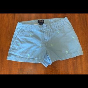 Ralph Lauren Polo Shorts - girls -size 12